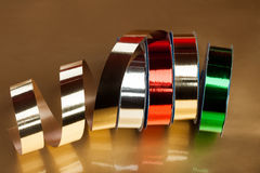 Ribbons on a reel Royalty Free Stock Photography