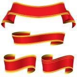 Ribbons set Stock Photo