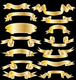 Ribbons set Royalty Free Stock Photos