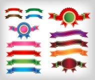 Ribbons set Royalty Free Stock Photo