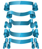 Ribbons Set, Vector Illustration. Stock Image