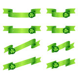 Ribbons Shamrock Stock Image