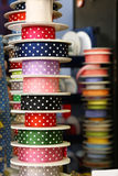 Ribbons in a store of Valencia, Spain Royalty Free Stock Photography