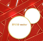 Ribbons vector background Royalty Free Stock Photo