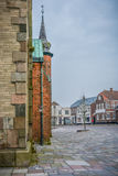 Ribe, Дания стоковые фото