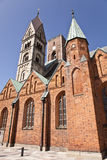 Ribe Cathedral. Royalty Free Stock Photo