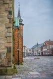 Ribe, Denemarken stock foto's