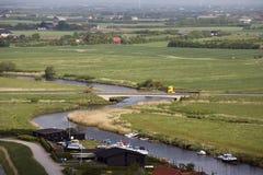 Ribe-Fluss Stockbild