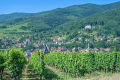 Ribeauville,Alsace,France Stock Image