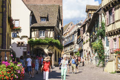 Ribeauville , Alsace, France. Stock Photography