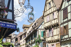 Ribeauville , Alsace, France. Royalty Free Stock Photos