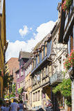 Ribeauville , Alsace, France. Royalty Free Stock Images