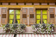 Ribeauville (Alsace) - House Stock Images