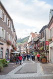 Ribeauville French village Royalty Free Stock Image