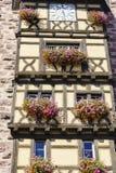 Ribeauville, l'Alsazia, Francia Fotografia Stock Libera da Diritti