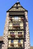 Ribeauville, l'Alsazia, Francia Immagini Stock