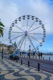 Ribeira海滩,在卡斯卡伊斯 库存图片