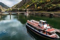 Ribeira骶骨的锡勒河在加利西亚 库存图片