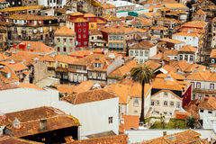 Ribeira,波尔图,葡萄牙ol镇  免版税库存图片