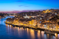 Ribeira στο Πόρτο, Πορτογαλία Στοκ εικόνες με δικαίωμα ελεύθερης χρήσης