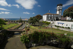 Ribeira большой, Азорские островы, Португалия Стоковые Фотографии RF