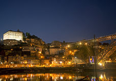 Ribeira area of porto portugal Stock Image