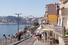 Ribeira av Porto Royaltyfria Foton