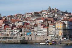 Ribeira - a cidade velha de Porto, Portugal fotografia de stock royalty free