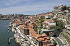 Ribeira district Royalty Free Stock Images
