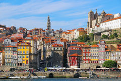 Ribeira district in the heart of Porto, Portugal Stock Photography