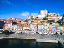 Ribeira District of Porto, Portugal Stock Images
