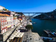 Ribeira District of Porto, Portugal Royalty Free Stock Photography