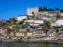 Ribeira District in Porto Royalty Free Stock Images
