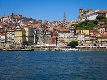 Ribeira District in Porto Stock Photo