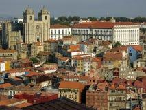 The Ribeira district in Porto Stock Image
