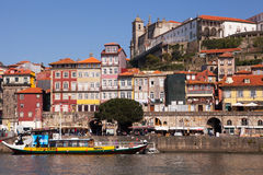 The Ribeira and the Douro, Porto Stock Images