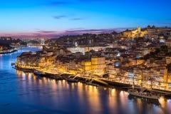 Ribeira em Porto, Portugal Imagens de Stock Royalty Free