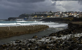 Ribeira Grande, Sao Miguel island, Azores archipelago (Portugal) Royalty Free Stock Images