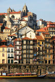 Ribeira Houses, Porto. City in Portugal Stock Photography