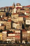 Ribeira Houses, Porto stock images