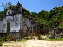 Ribeira kerk - Angra Dos Reis - Rio de Janeiro - Brazilië Stock Afbeeldingen