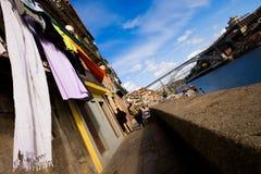 Ribeira no Porto imagem de stock