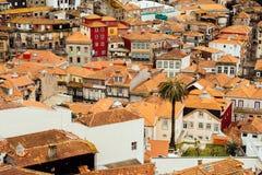 Ribeira, ol town of Porto, Portugal Royalty Free Stock Image