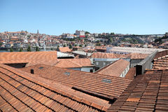 Ribeira - old town of Porto Stock Images
