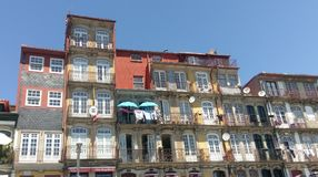 Ribeira, Oporto, Португалия Стоковое Фото