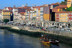 Ribeira, Oporto Imagenes de archivo