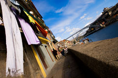 Ribeira a Oporto immagine stock