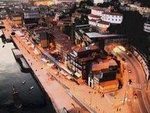 Ribeira - Porto - Portugal stock image