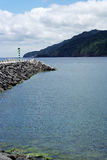 Ribeira Quente, Sao-Miguel-Insel, Portugal Lizenzfreies Stockfoto