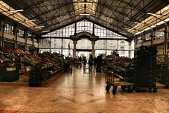 Ribeira rynek w Lisbon, Portugalia zdjęcia royalty free